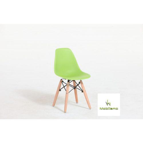 Perla - Modern Gyerekszék Zöld színben